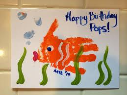 Hand-made Hand print Birthday card for Dad or grandpa | Birthday ...