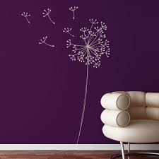 For Annabel S Purple Room Dandelion Wall Decal Wall Decals Wall Decor Decals