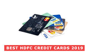 best hdfc credit cards in india 2019
