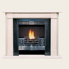 wood burning fireplace traditional