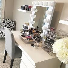 makeup room tour with a look through
