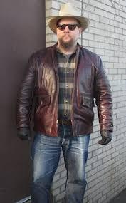 long half belt leather jacket