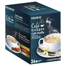cafe escapes keurig coffee beverage mix