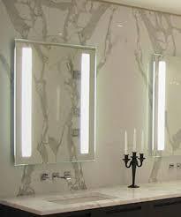 fusion led bathroom lighted mirror