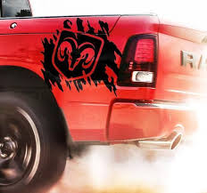 Ram Side Splash Vinyl Stickers Decal Fit To Ram 1500 2500 Avery Truck Decals Car Sticker Design Truck Stickers