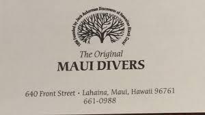 the original maui divers kaanapali