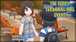 Ferry Terminal Girl Event - Pokemon Sun Moon Demo - YouTube