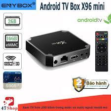 Android TV Box X96 mini phiên bản 2G Ram và 16G bộ nhớ trong ...