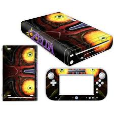 The Legend Of Zelda Skin Sticker For Nintendo Wii U Console Cover With Remotes Controller Skins For Nintend Wii U Sticker Stickers Aliexpress