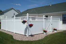 Schmidt Fence Deck Backyard Fence Ideas Privacy Backyard Privacy Backyard Fences