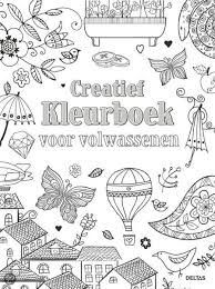 Bol Com Creatief Kleurboek Voor Volwassenen 9789044737684 Boeken