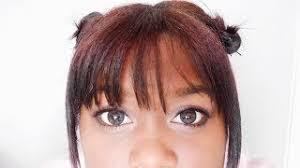 black living doll makeup tutorial 2