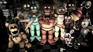 Fnaf Five Nights At Freddys Wall Stickers 3d Bedroom Boys Etsy