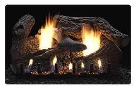 super sassafras gas fireplace logs