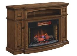 midway electric fireplace in premium