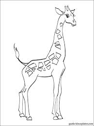 Giraf Kleurplaat Voor Kinderen Gratis Kleurplaten