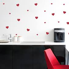 Love Hearts Wall Decal Sticker