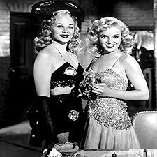 Amazon.com: Posterazzi DAP134 Adele Jergens and Marilyn Monroe - Ladies of  The Chorus Photo Print, 8 x 10, Multi: Posters & Prints