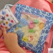 sensory bags to make for your kids