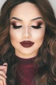 12 best makeup for burgundy dress