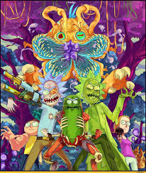 rick and morty trippy wallpapers top