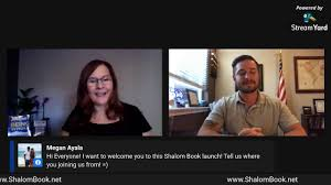 Shalom Global Virtual Book Launch Party - YouTube