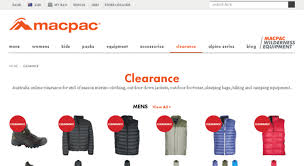 macpac outlet au clearance