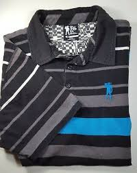 ryan sheckler men s m gray blue striped