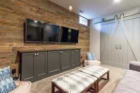 Game Room Entertainment Center In West Chester Basement Farmhouse Kids Philadelphia By Maclaren Kitchen And Bath