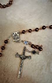 copper head rosary sarah s treres