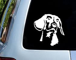 Beagle Car Decal Etsy