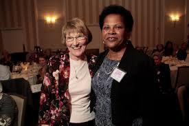 21 Yvonne Smith (right), St. Nicholas Catholic   Interfaith Action of  Evanston