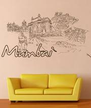 Vinyl Wall Decal Sticker Mumbai 1412 Stickerbrand