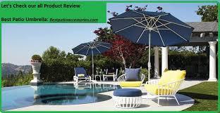 best patio umbrella stylish and
