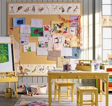 Art Display Bulletin Board In Martha Stewart S Home Kids Room Art Toy Rooms Kids Decor