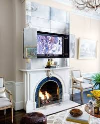 solutions for tv over fireplace ideas