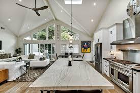 modern open floor plan house in willow