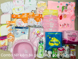 KM] SET trọn bộ sơ sinh giá rẻ, trọn gói đồ sơ sinh đầy đủ tại Tp HCM