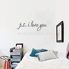 Ps I Love You Wall Decal Famous Inspirational Quotes Art Living Room Bedroom Rearede Removable Vinyl Wall Stickers Buy Ps I Love You Wall Decal Quotes Art Vinyl Wall Stickers Product On