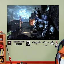 Dc Comics Batman Arkham City Mural Decal Sticker Wall Decal Allposters Com