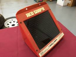 Red Snapper Solar Ss100b Electric Fence Controller Huge Collectors Antiques And Vintage Items K Bid