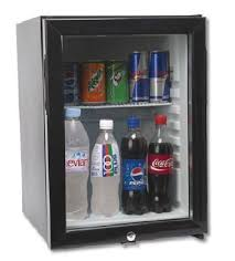 glass door mini bar refrigerator