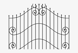 Graveyard Clipart Gates Cemetery Iron Gate Transparent Free Transparent Png Download Pngkey