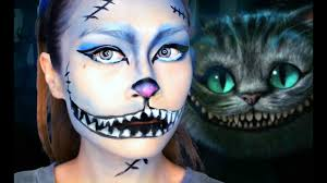 easy cheshire cat makeup