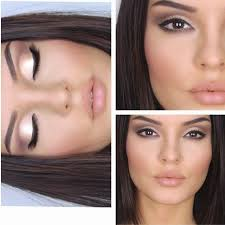 natural makeup for small brown eyes