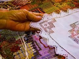 Tradição do bordado filé é mantida com dificuldades no Pontal da ...