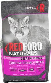 redford naturals grain free sensitive