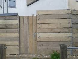 what timber to use to clad small garden