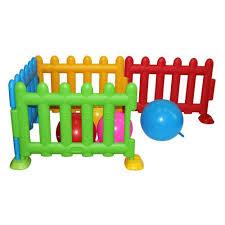 Megastar Kids Plastic Play Fence Big 75 Cm Playpen Babystore Ae