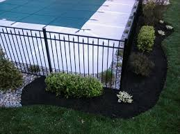 Refreshing A Swimming Pool Landscape All About The House Inground Pool Landscaping Swimming Pool Landscaping Backyard Pool Landscaping